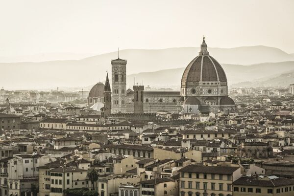 Europe, Italy, Tuscany. the Cathedral of Florence
