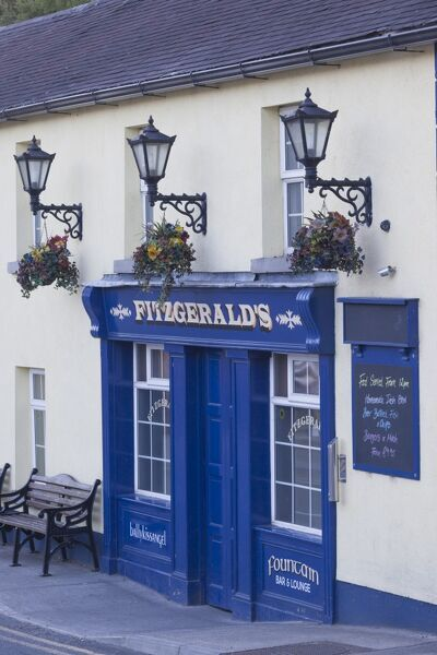 Ireland, County Wicklow, Avoca, Fitzgerald's Pub, played leading role in TV series, Ballykissangel