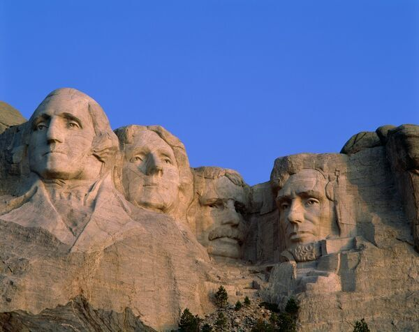Mount Rushmore National Monument, South Dakota, USA