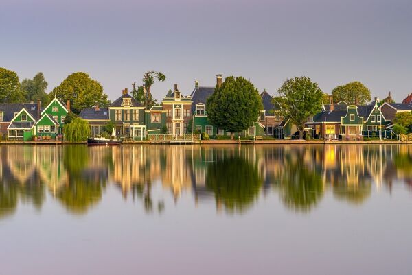 Netherlands, North Holland, Zaandam, River Zaan