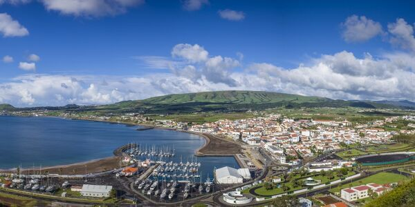 Portugal, Azores, Terceira Island, Praia da Vitoria, morning