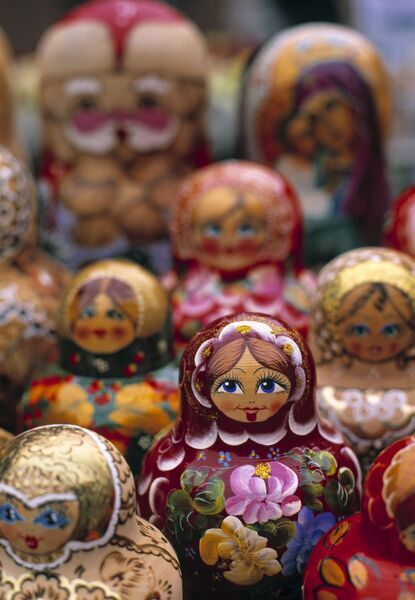 Russian Dolls, Riga, Latvia