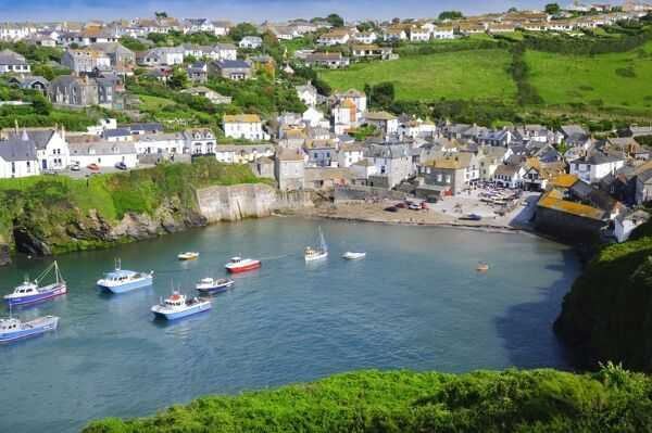 UK, England, Cornwall, Port Isaac