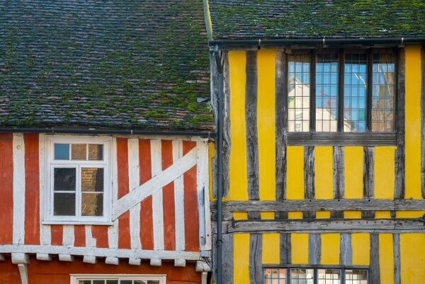 UK, England, Suffolk, Lavenham, Water Street
