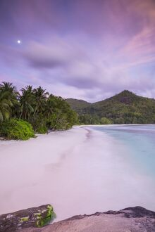 Beach in southern Mahe, Seychelles