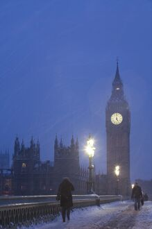 Big Ben, House of Parliament, London, England, UK