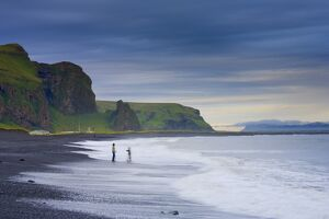 Black Sand Beach, Vik, Cape Dyrholaey, South Coast, Iceland
