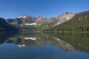 Cameron Lake, Waterton Lakes National Park, Alberta, Rockies, Canada
