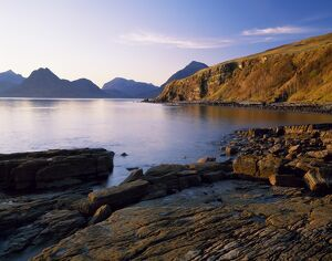 The Cuilins from Elgol on the west coast of the Isle of Skye
