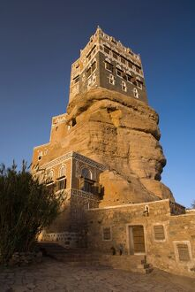 Dar Al Hajar (the Rock Palace), Wadi Dhar, Yemen