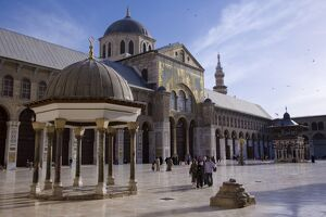 The Dome of the Clocks in the Umayyad Mosque