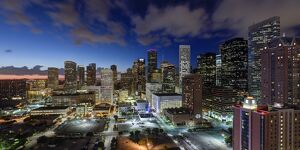 Downtown City Skyline, Houston, Texas, USA