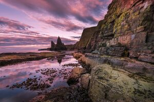Europe, United Kingdom, Scotland, Duncansby Point, sea cliffs