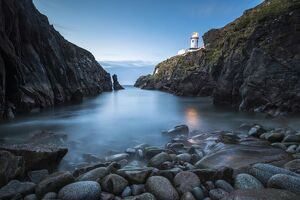 Fanad Head (Fanaid) lighthouse, County Donegal, Ulster region, Ireland, Europe