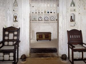 A fine example of the interior of a traditional Swahili