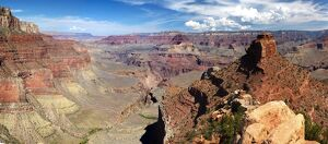 Grand Canyon from the north rim, Arizona, USA