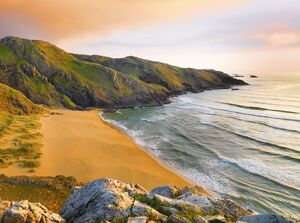 Ireland, Co.Donegal, Rosguil, Boyeeghter Bay