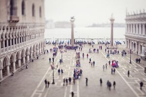 Italy, Veneto, Venezia district, Venice. San Marco Square