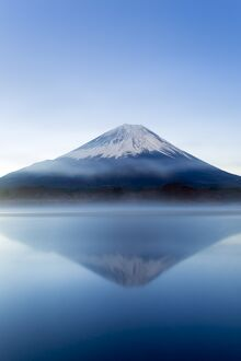Lake Shoji and Mt Fuji, Fuji Hazone Izu National Park, Japan
