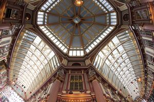 Leadenhall Market, City of London, London, England