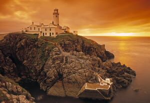 Lighthouse, Fanad Head, Donegal Peninsula, Co