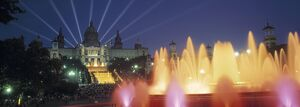 Magic Fountain & National Palace, Barcelona, Spain