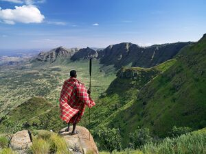 A magnificent view from the eastern scarp of Africa's