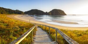 Matapouri Beach at sunrise, Tutukaka Coast, Northland, North Island, New Zealand