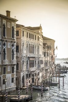 Palazzos along the Grand Canal, Venice, Italy