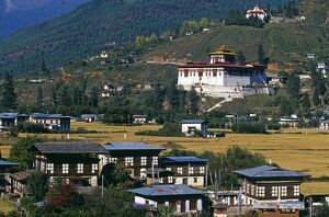 Paro is Bhutan's second largest town