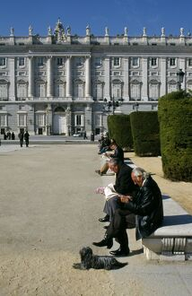Plaza de Oriente and Royal Palace, Madrid