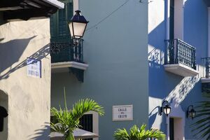 Puerto Rico, San Juan, Old Town, Colonial Architecture