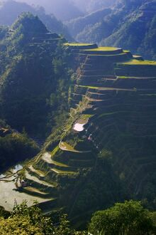 Rice terraces of Banaue, Luzon Island, Philippines