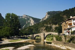Roman Bridge over the River Esca