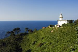 San Sebastian Bay Lighthouse on cliff