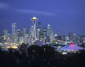 Seattle skyline fr