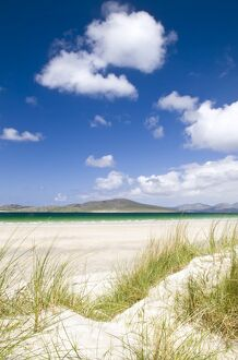 Seilebost beach, Isle of Harris, Hebrides, Scotland, UK