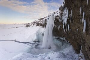 Seljalandfoss Falls waterfall, Rangarvalla District, Southern Iceland