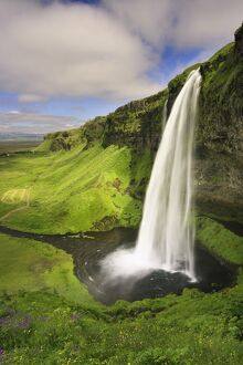 Seljalandfoss Waterfall, South Coast, Iceland