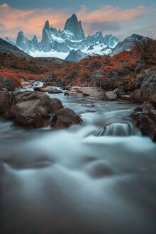 South America, Argentina, Patagonia, Los Glaciares National Park, Andes mountains