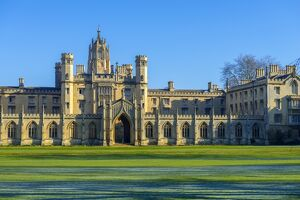 UK, England, Cambridge, University of Cambridge, St. John's College