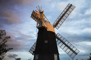 UK, England, Cambridgeshire, Wicken, Wicken windmill