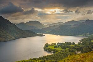 UK, England, Cumbria, Lake District, Ullswater