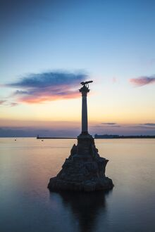 Ukraine, Crimea, Sevastopol, Eagle Column - Monument to the Scuttled Ships