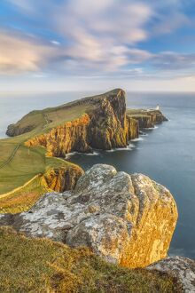 United Kingdom, UK, Scotland, Inner Hebrides, the cliffs of Neist point
