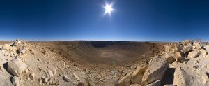 USA, Arizona, Barringer Meteorite Crater