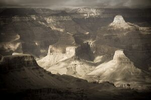 USA, Arizona, Grand Canyon, from Grand View
