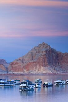 USA, Arizona, nr Page, Wahweap, Lake Powell