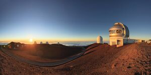 USA, Hawaii, The Big Island, Mauna Kea Observatory (4200m)