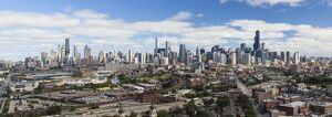 USA, Illinois, Chicago, City skyline
